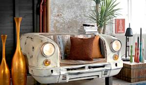 eclectic Living room by Vintagehaus
