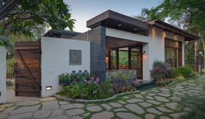 monica khanna designsが手掛けたtranslation missing: jp.style.庭.modern庭