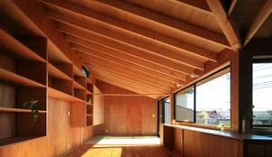 豊四季のいえ: andfujiizaki一級建築士事務所が手掛けたtranslation missing: jp.style.リビングルーム.eclecticリビングルームです。