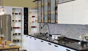 Bodrum Femaş Mobilya - Larix: endüstriyel tarz tarz Mutfak