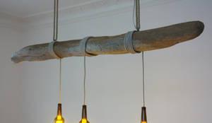 Hängelampe aus Treibholz von Meister Lampe  homify