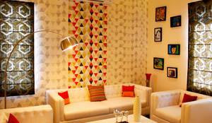 moderne Wohnzimmer von Rubenius Interiors