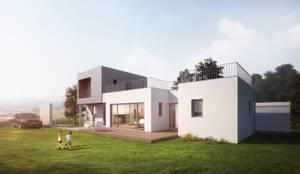 강화도 창후리 바다가 보이는 전원주택: 경피리 건축발전소 건축사사무소의