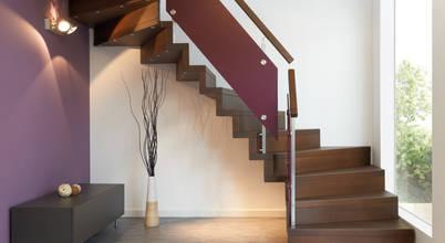 Sinus-Treppen-Design