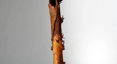 Holzsteinkunstobjekte