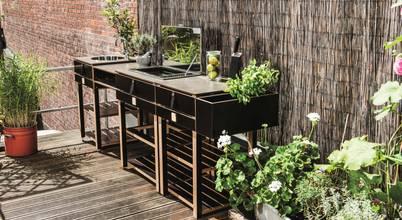 ocq outdoor cooking queen terrassen patios. Black Bedroom Furniture Sets. Home Design Ideas