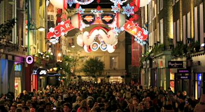 Carnaby Christmas Lights Installation