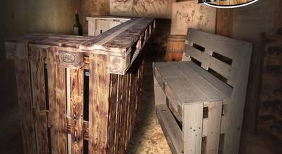Hardy-Design Möbel aus Europaletten