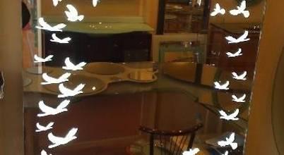 Hanedan Cam Ayna Dekorasyon