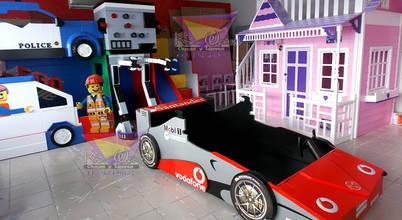 Kids Wolrd- Recamaras Literas y Muebles para niños