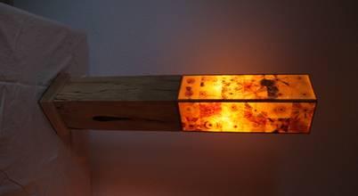 Holz Leuchtet