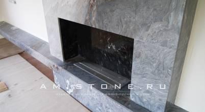 Amistone - камень в интерьере