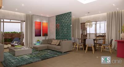 MS One Arquitetura & Design de Interiores