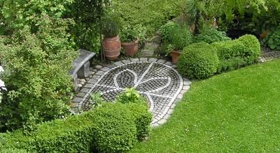 Architektur Landschaft Garten