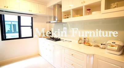 Mekin Furniture Hi Gloss Built In