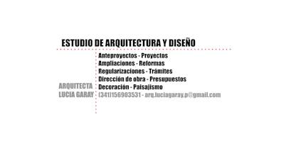 - Arq. Lucia Garay - Arquitectura y Diseño -