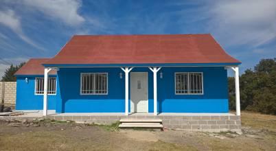 Casa Prefabricada en Mexico.
