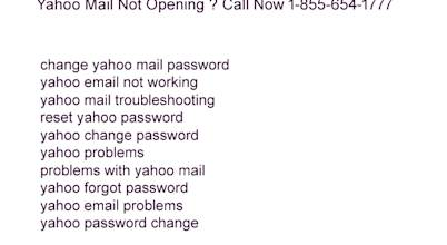 How To Stop Unwanted Mails In Yahoo ? Dial Now 1-855-654-1777