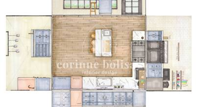 Interiors by Corinne Bolisay