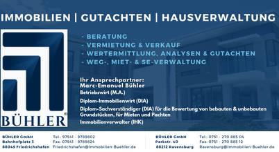 Bühler GmbH | Immobilien-, Verwaltungs- u. Sachverständigengesellschaft