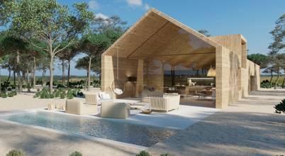 BASS HOUSES | Construcción Ecológica, Casas Pasivas. Modernas & Minimalistas