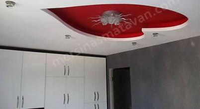 Mersin asma tavan ev dekorasyonu