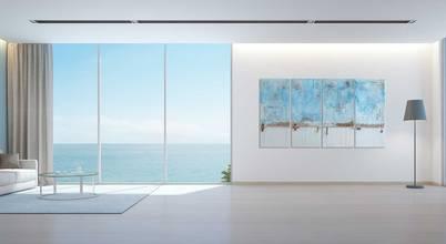 gh Abstrakt design - Moderne Kunstgemälde