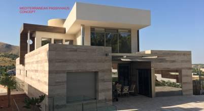 DYOV  STUDIO Arquitectura. Concepto Passivhaus Mediterráneo. 653773806