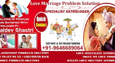 Love Problem Solution in Punjab +91-9646689064