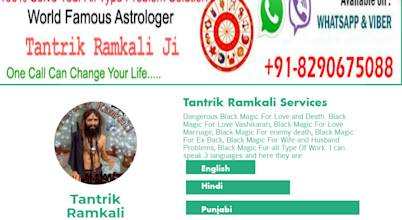 Best Tantrik Baba | Real, Good & Genuine Tantrik Baba | Top And famous Tantrik