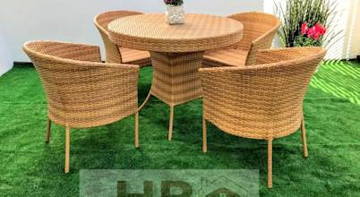 Hr Rattan y Decoración