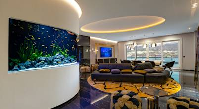 MELIK LUXURY Aquarium