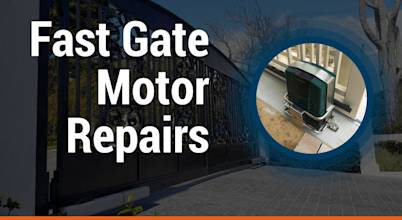 Fast Gate Motor Repairs Johannesburg