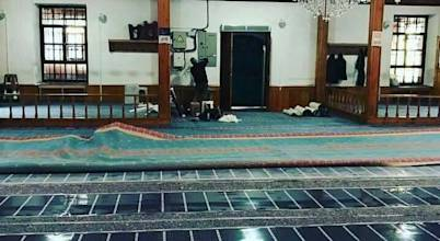 Eskişehir Cami Halı Altı Isıtma
