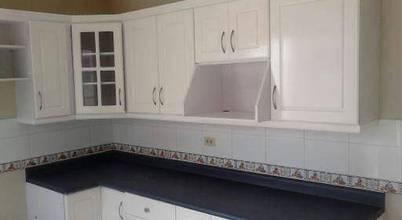 Cocina e interiores de madera