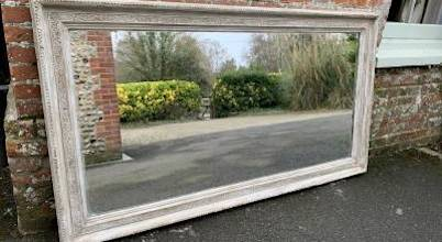 Large Antique Mirror at Cleall Antiques, West Sussex, UK