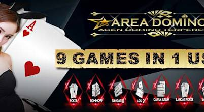 Areadomino situs pkv games, bandarq, dominoqq dan poker online Terbaik Indonesia.