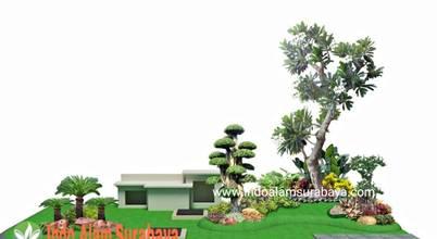 Tukang Taman Surabaya | Indo Alam Landscape