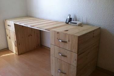 D tarima muebles y accesorios en mexico d f homify for Tarimas de madera para muebles