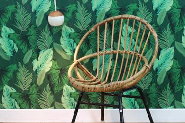 le presse papier papier peint color y dise o de las paredes en lyon homify. Black Bedroom Furniture Sets. Home Design Ideas