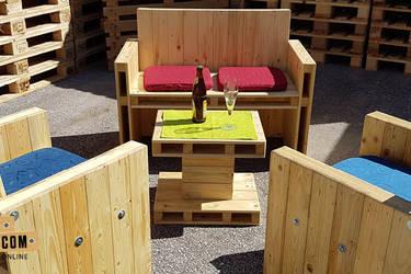 Arredamento pallets design concepteurs de meubles for Arredamento pallets