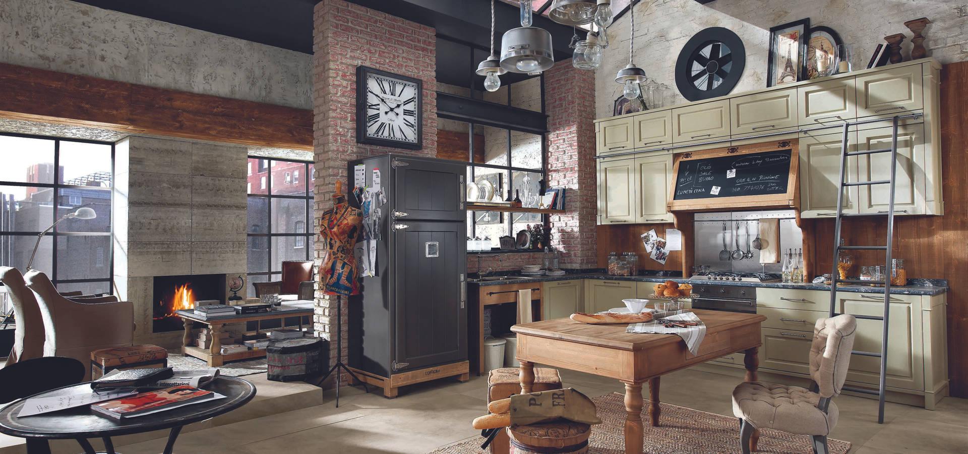 Marchi cucine presenta i modelli loft e nolita di marchi group homify - Marche cucine economiche ...