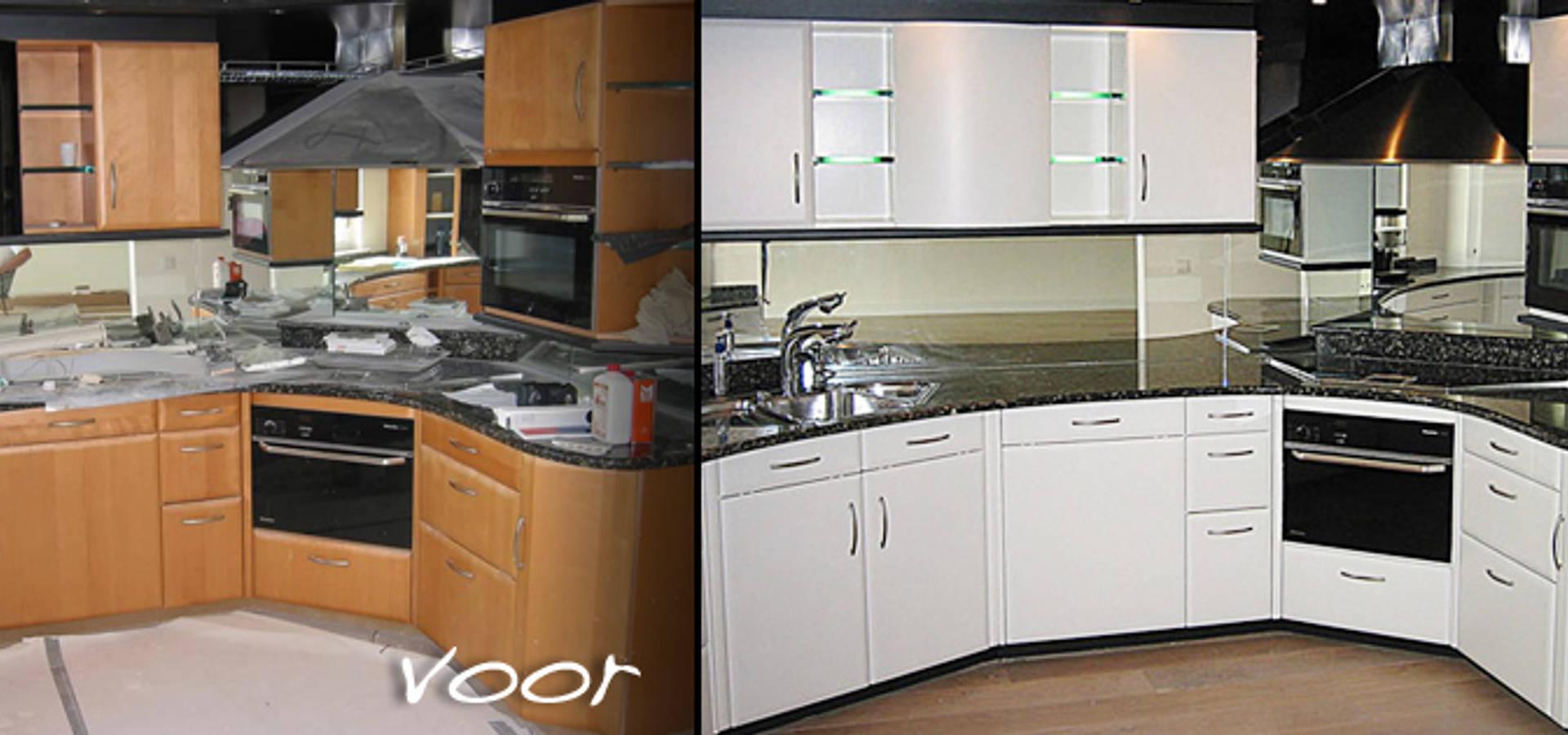 Keuken Schilderen Voor En Na : Wijzig omslag ? Selecteer een project Selecteer een foto Door de