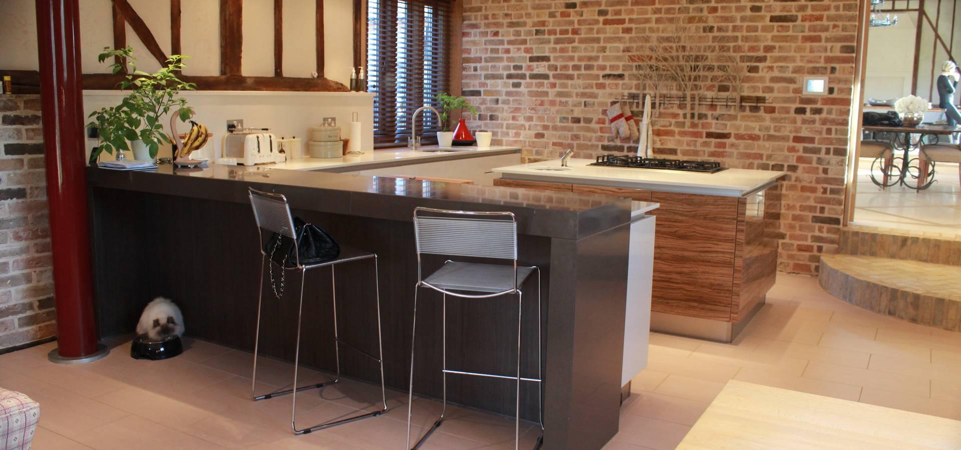 Studio3kitchens dise adores de cocinas en hertford homify - Disenadores de cocinas ...
