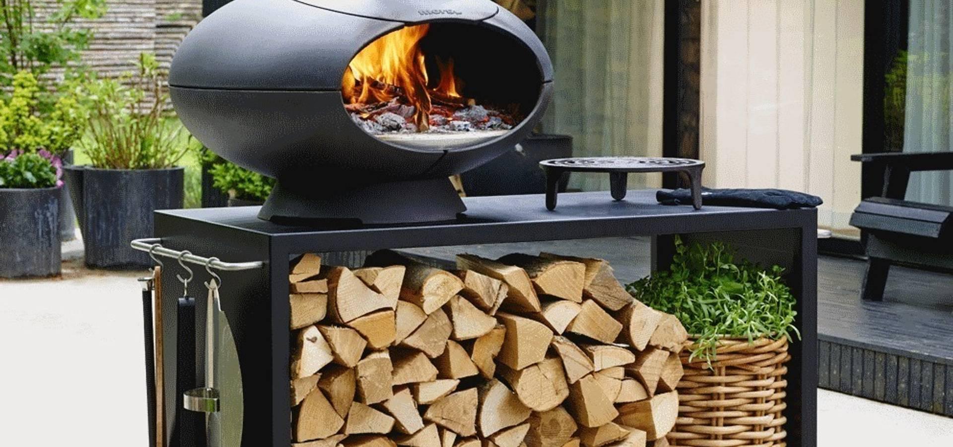 morso four pizza et barbecue de tenue d 39 jardin homify. Black Bedroom Furniture Sets. Home Design Ideas