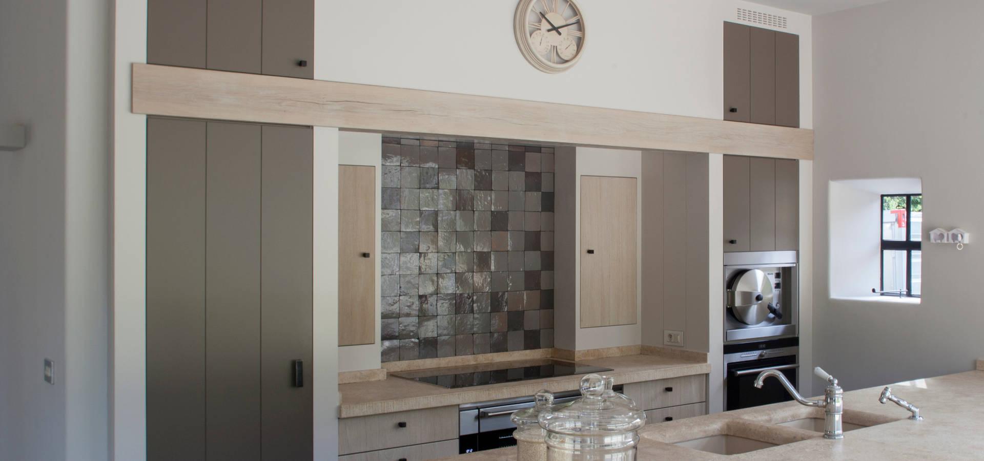 Badkamer Plank Douche ~ Landelijke badkamer met steigerhout door Taps&Baths  homify