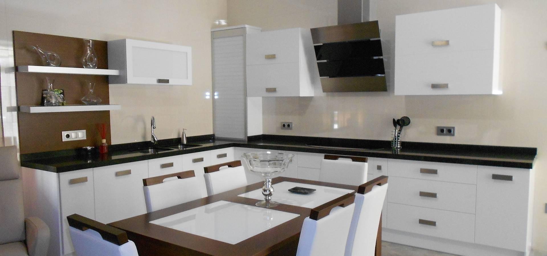 Color blanco siempre presente en cocinas ba os y for Cocinas en color blanco
