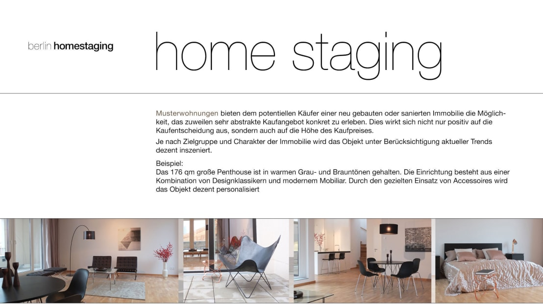 home staging von berlin homestaging homify. Black Bedroom Furniture Sets. Home Design Ideas