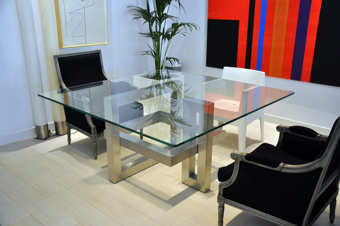 L nea alto dise o mesas de comedor de gonzalo de salas - Mesas de comedor diseno ...