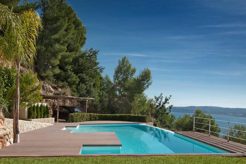 Piscina infinity por gunitec concept pools homify for Gunitec piscinas
